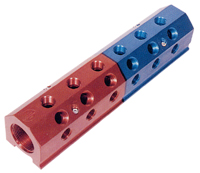 Red/Blue Divided Manifold